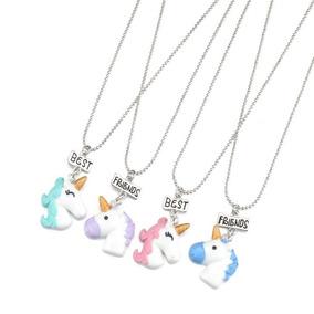 7d1cd4c1c5fb Collar Unicornio De Los Mejores Amigos Best Friends Full