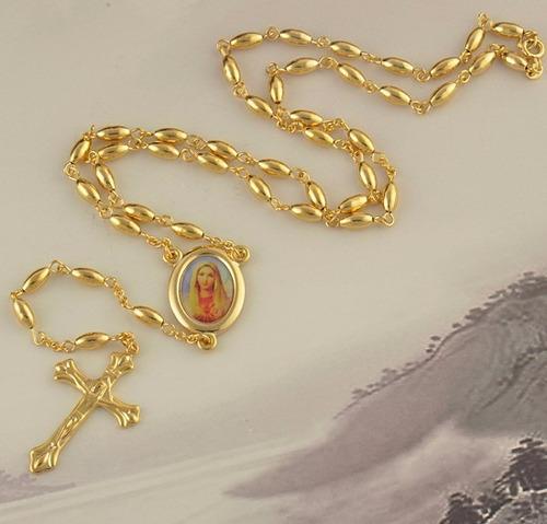 collar unisex enchapado oro/gold filled/joya envío gratis