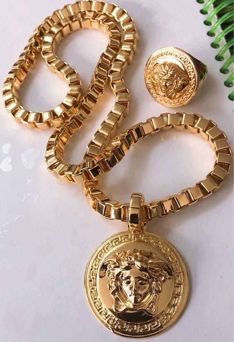 tan baratas nuevo autentico 50% rebajado Collar Versace Medusa