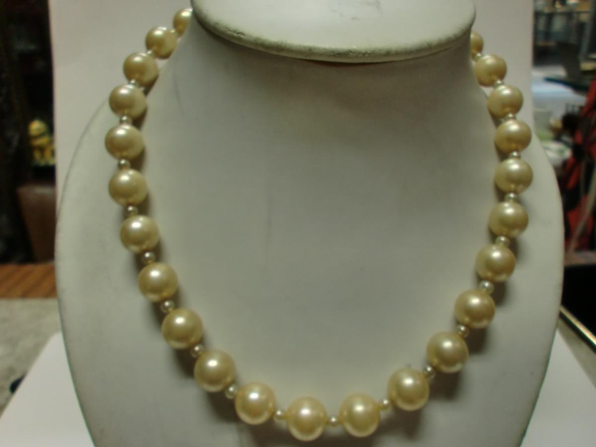 f0fa2cbff3d9 collar vintage - perlas fantasia. Cargando zoom.