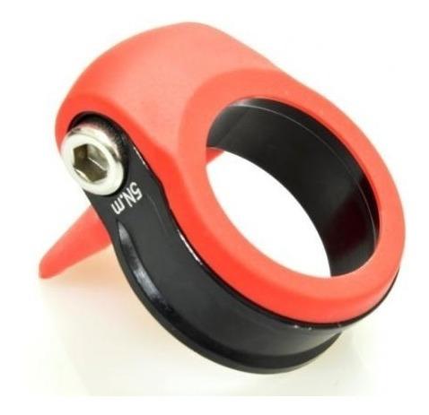 collar wkns 31.8mm aluminio con protector de goma