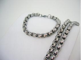 47a44a8cc56f Perlitas Para Pulseras - Cadenas y Collares Acero en Mercado Libre Argentina