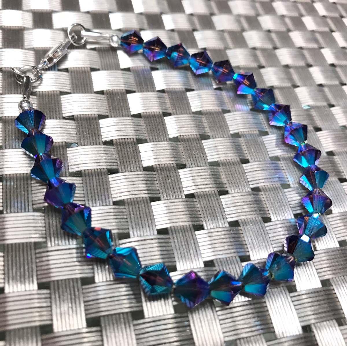 90e0144a81ed collar y pulsera swarovski cristal plata 925 garantia joyas. Cargando zoom.