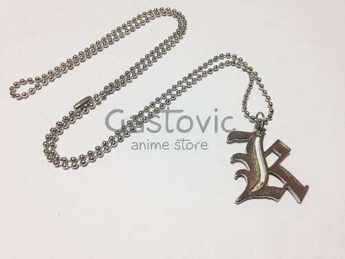 collar yagami light kira death note gastovic anime store