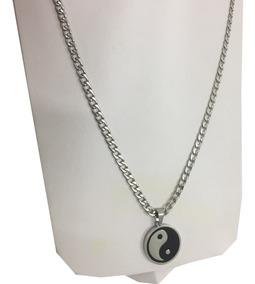 Plata De 1ª Ley .925 Nuevo. Collar Yin Yang