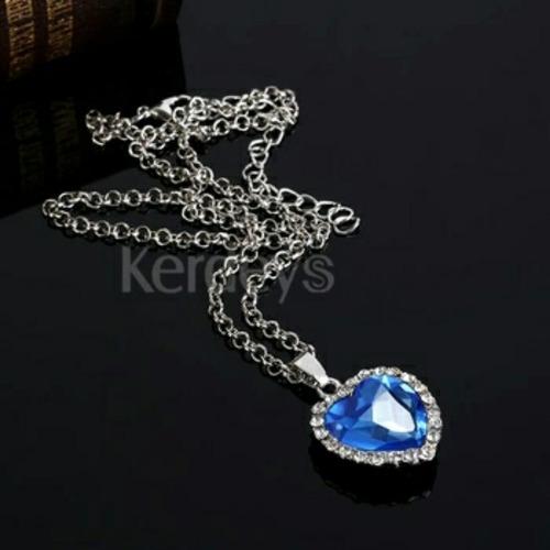 collar zafiro del titanic oferta+estuche