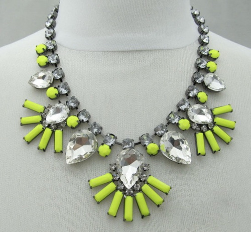 collar/cadena/gargantilla cristal/piedra/strass trendyoferta