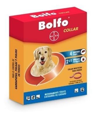 collares antipulgas bolfo para perros pequeños y grande