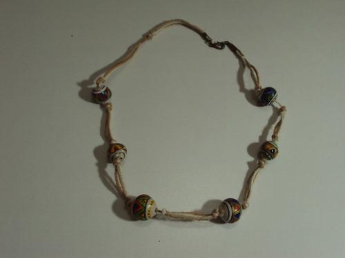 collares artesanales originales