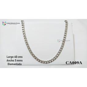 7d45c756180be Cadena Acero Diamantada Hip Hop - Joyería en Mercado Libre México