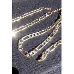 8c82919af973 Cadena Plata Diamantada Barbada - Collares y Cadenas Oro Sin Piedras ...