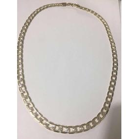 81e909708006f Cadena Gruesa Diseño Diamantado Oro Laminado 18k Mide 60 Cm