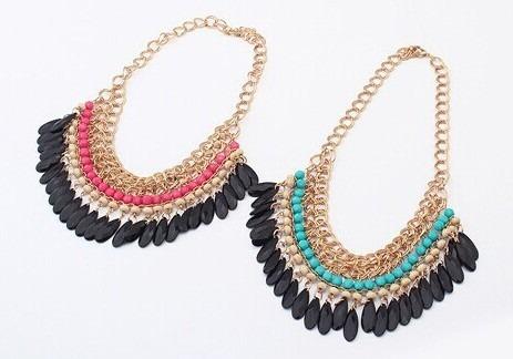 eb5c54eec4e2 Collares Cadenas Dama Moda Look Fashion Accesorio 202gsc - Bs ...