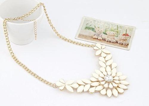 collares cadenas dama moda look fashion accesorio color 295g