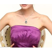 Gotas De Plata - Cristales Purpura - Swarovski Style