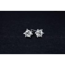 Aretes De Plata 925 Con Cristales De Swarovski