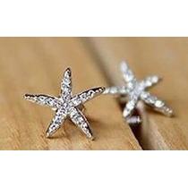 Estrella Set Collar + Aretes + Anillo Cristales Caja Elle851
