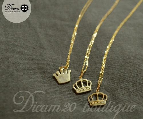 collares corona hermosos