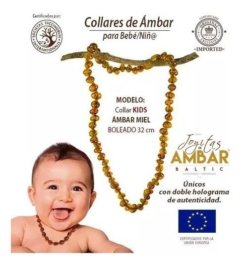 Child/'s ámbar Báltico Collar