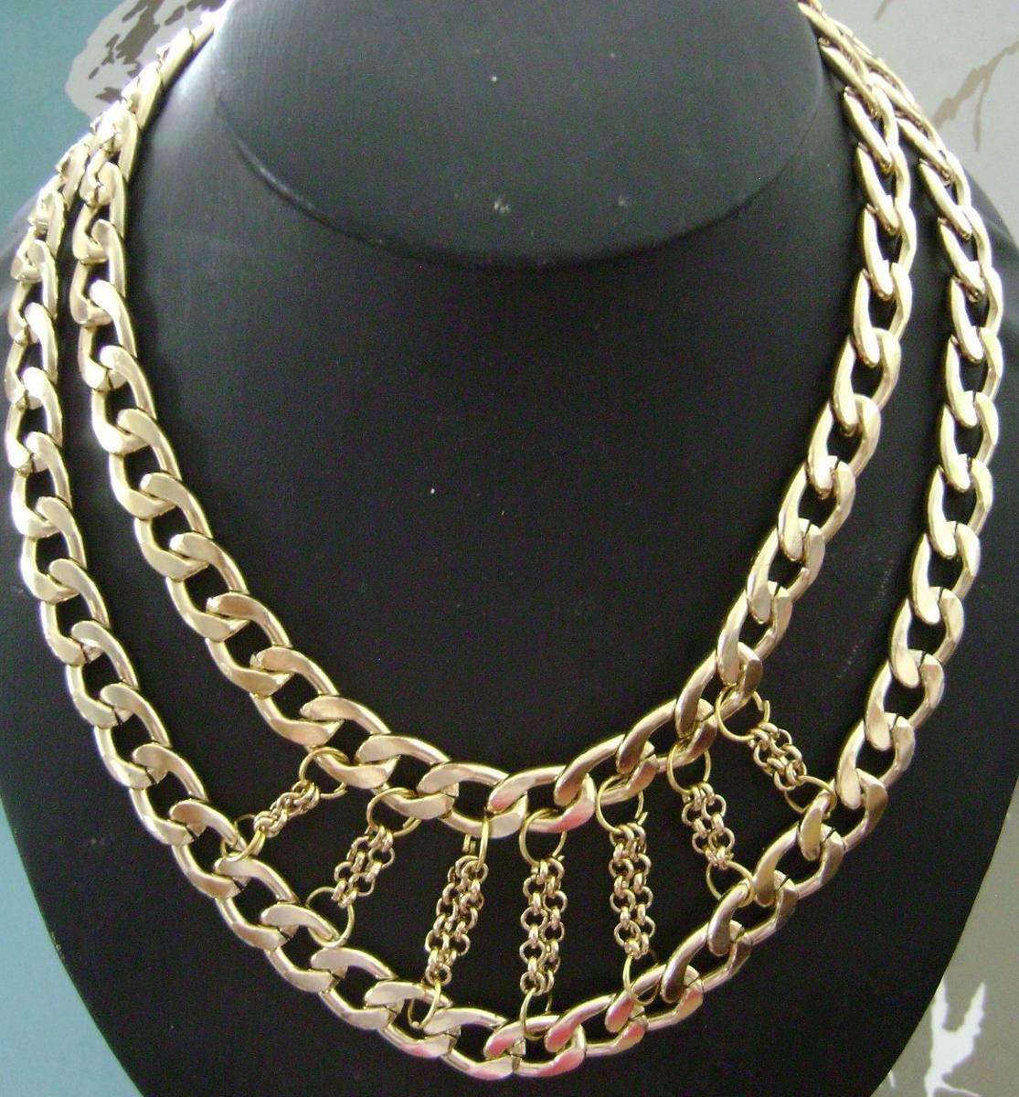 7d8b11b7a6de Collares De Cadena De Aluminio -   100.00 en Mercado Libre