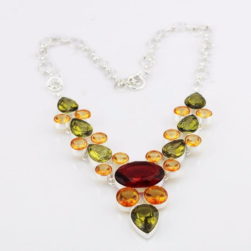 Collares de piedras preciosas env o gratis por dhl 397 - Piedras para collares ...