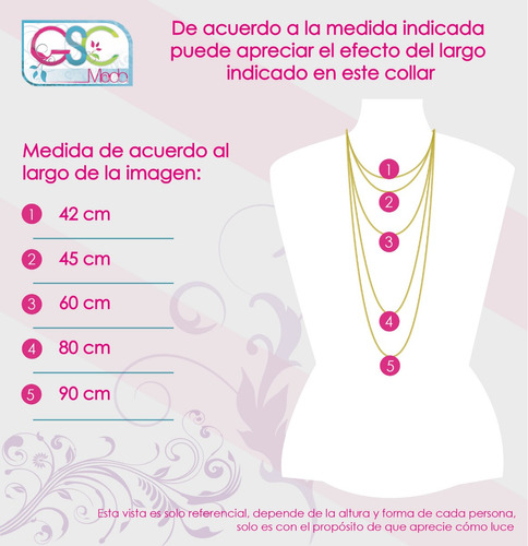 collares fiesta rumba elegantes fashion moda accesorios 247g