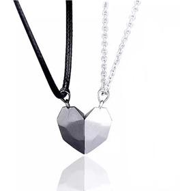 Collares Magnético Amuleto Parejas Novios Amor Imán Regalo