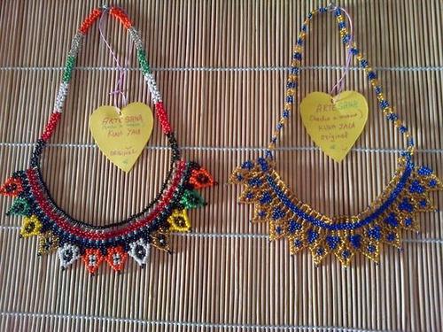 collares - necklaces kuna yala con envío global