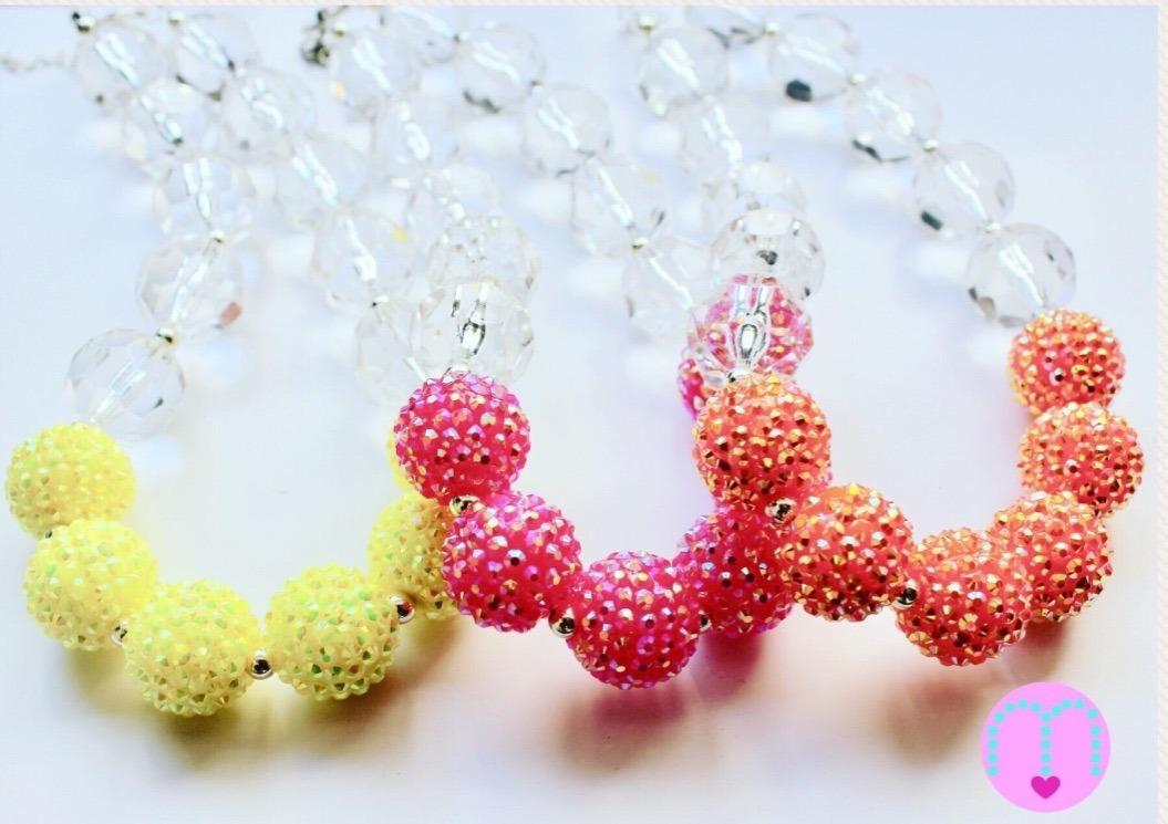 comprar online da596 2d343 Collares Para Niñas Tipo Bubblegum
