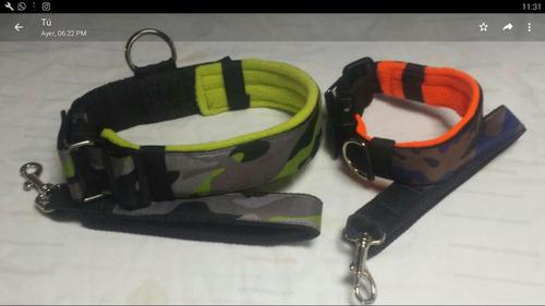 collares perro  inu k9 acolchados m, l y xl