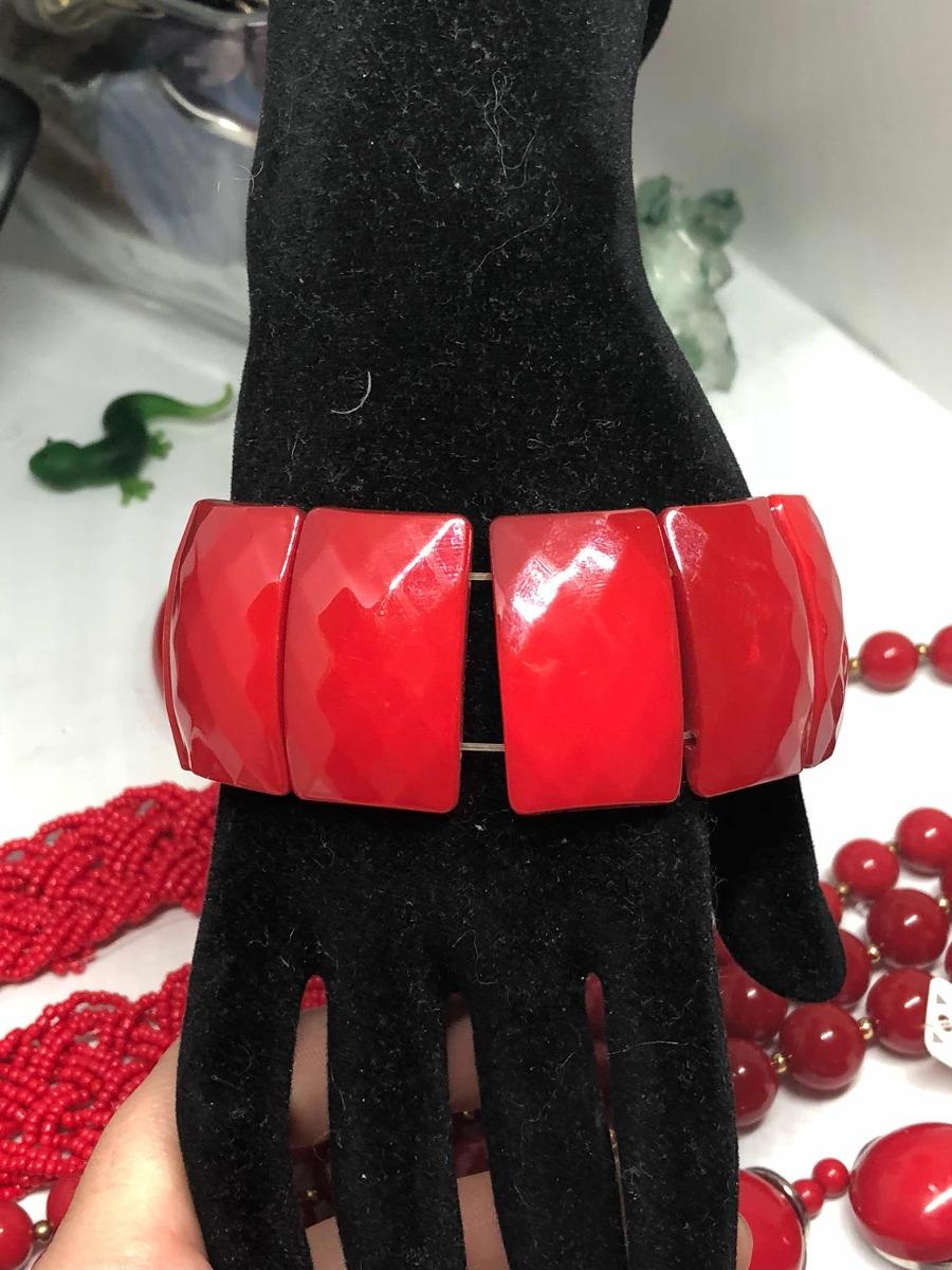 cf51f2560ceb Collares Rojos Coral Cuentas -   12.900 en Mercado Libre