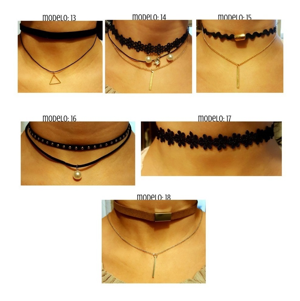 2ea0599baa85 Collares Vintage Dije Joyeria Bisuteria Mayoreo Baratos Moda