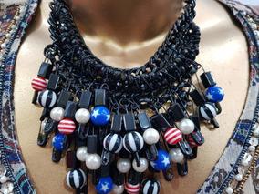 46c72a130730 Moderno Collar De Mostacillas - Ropa y Accesorios en Mercado Libre Argentina