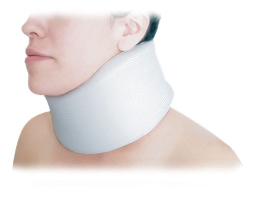 collarín cervical adulto alto blanco