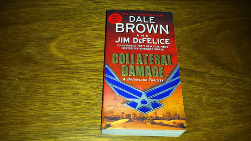 collateral damage dreamland thriller dale brown jim defelice