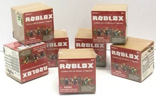 colleccionable juguete roblox mystery figures series 2