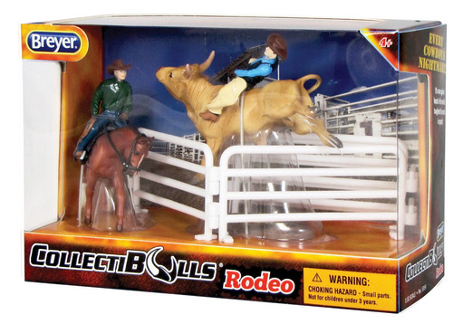 collecti bulls rodeo breyer
