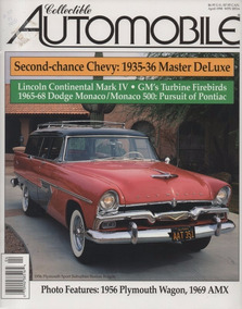 Collectible Automobile Chevrolet Master Deluxe Continental