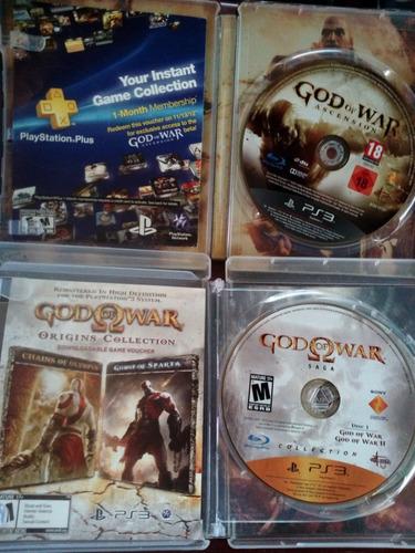 collection god of war saga y ascension en español ps3