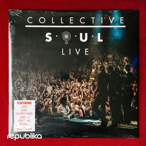 collective soul - live - doble lp nuevo edición usa