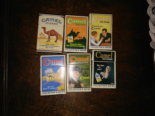 collector pack  camel x 5