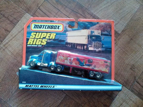 collectors super rigs matchbox hauler tractocamion trabucle