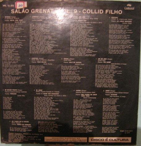 collid filho - salão grenat volume 9 - 1970
