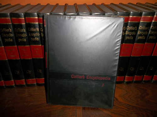 collier´s encyclopedia en ingles completa 24 tomos excelente