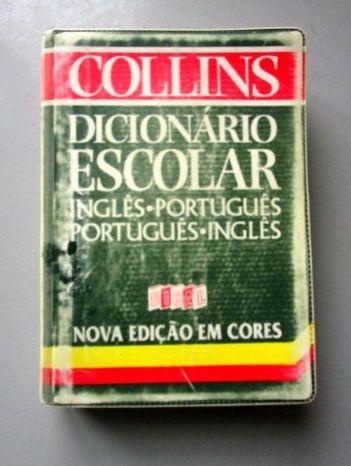 collins dicionário escolar - ing/port - port/ing - em cores