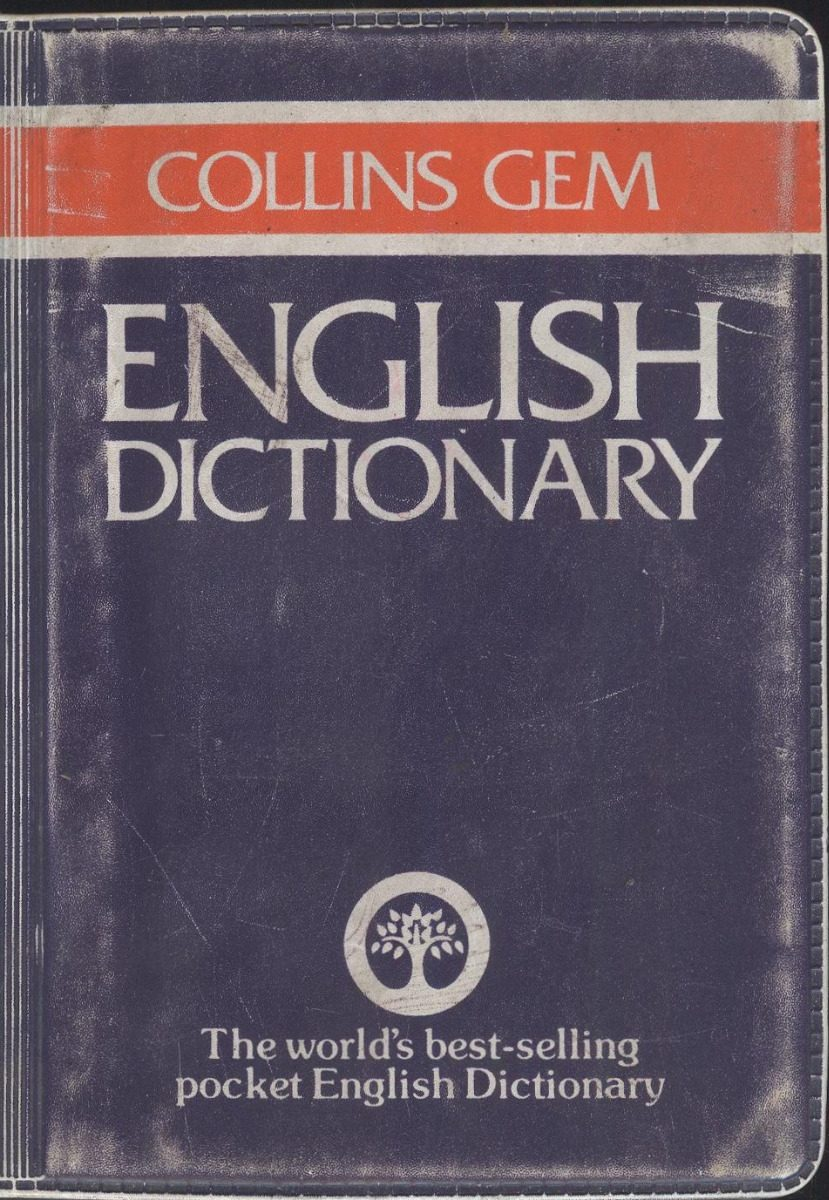 collins gem english dictionary (contemporáneos). Cargando zoom.