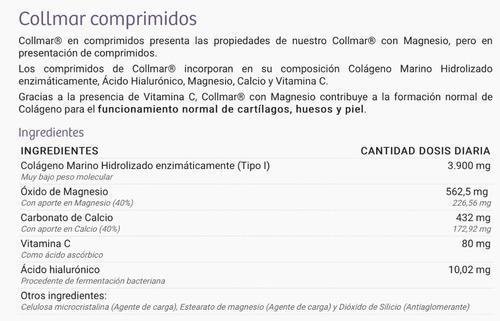 collmar colageno marino tipo i . 180 pastillas europa