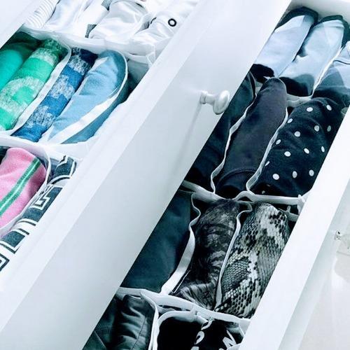 colmeia organizadora de gavetas branco separadores -  kit 3