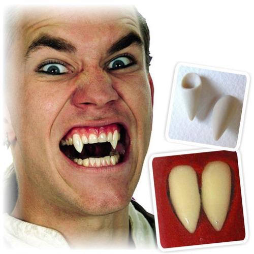 colmillos de vampiro postizos para halloween lobo drácula va