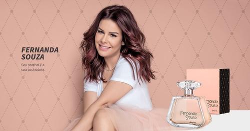 colônia desodorante feminina fernanda souza 100 ml - jequiti